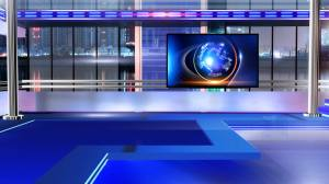 virtual studio background newsroom royalty motion footage screen graphics chroma professional space breaking broadcast