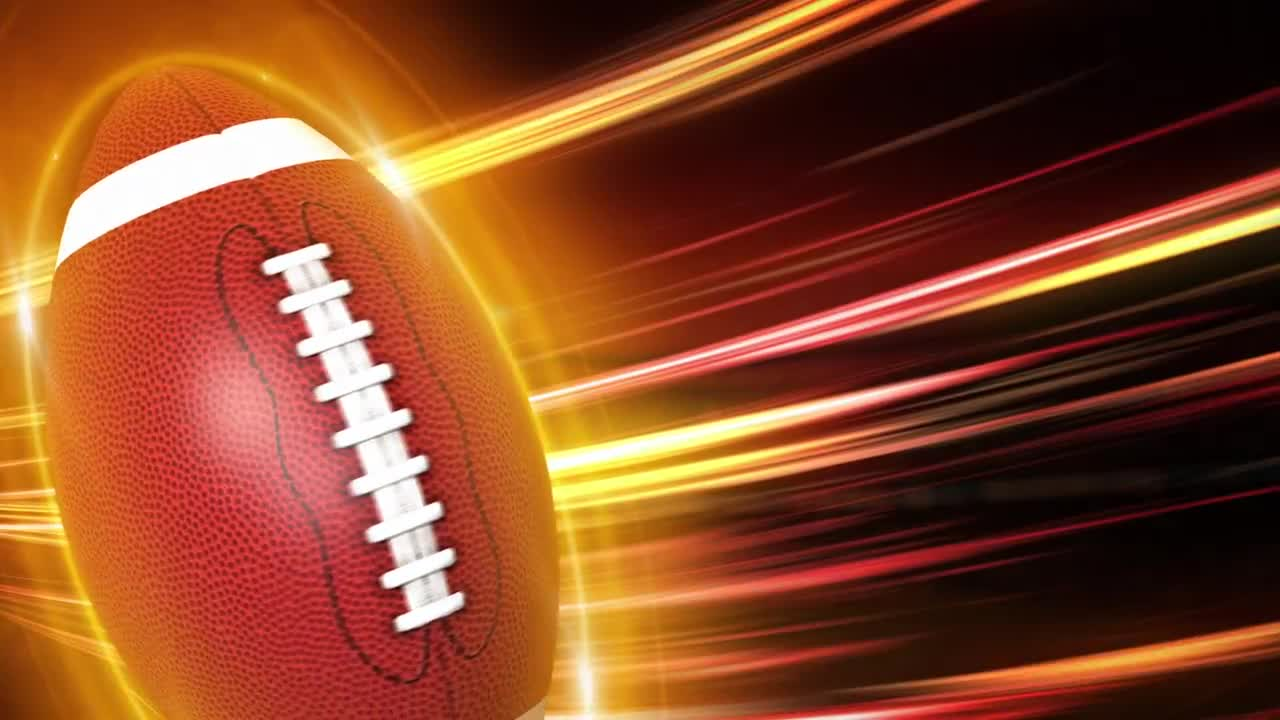 football background stock motion