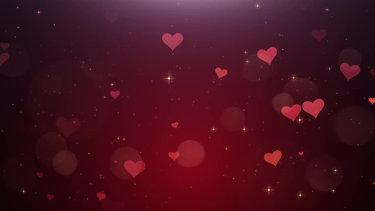 Falling Money Hd Wallpaper Romantic Background Of Hearts Stock Motion Graphics