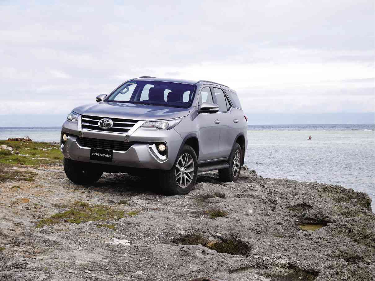 hight resolution of led daytime running lights are standard on the fortuner