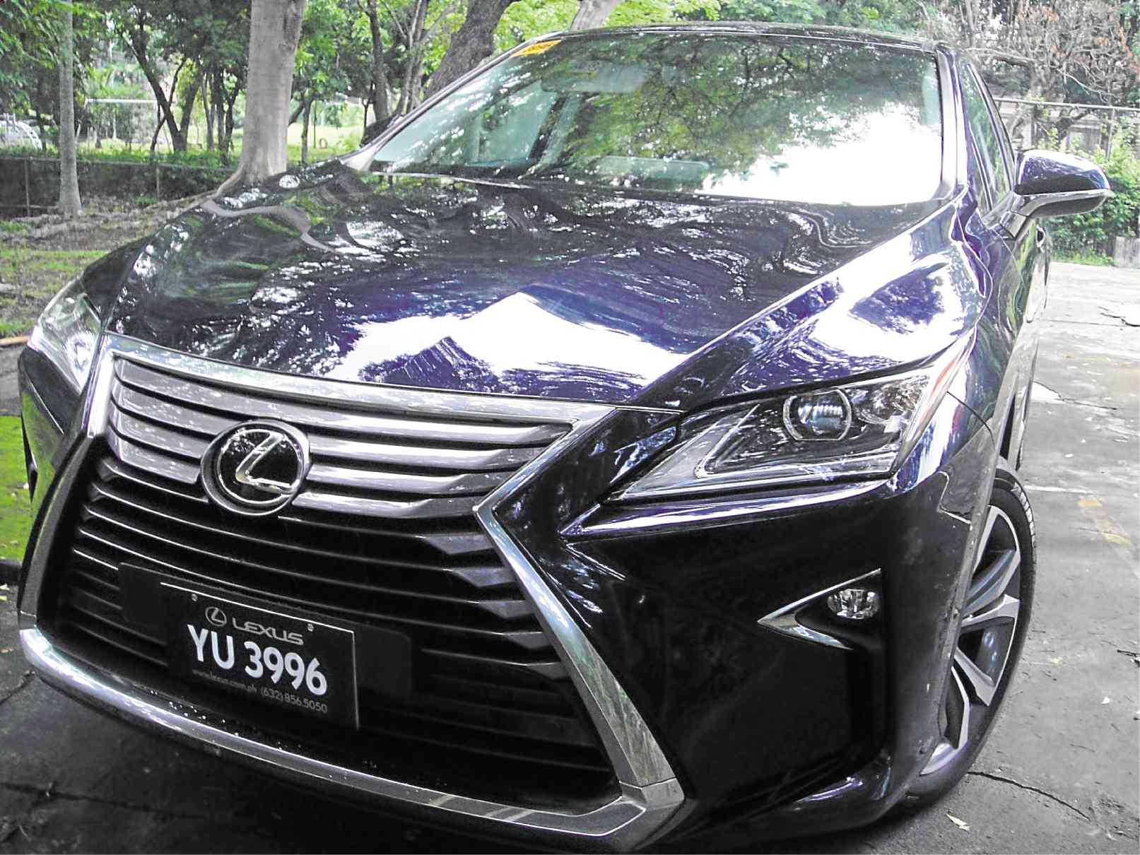 Lexus RX 350 If looks could kill Motioncars