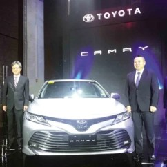 All New Toyota Camry Philippines Interior Grand Avanza G 2017 Ph Launches Presenting The 2019 Are From Left Motor Atty Rommel Gutierrez Tmp President Satoru Suzuki And Executive