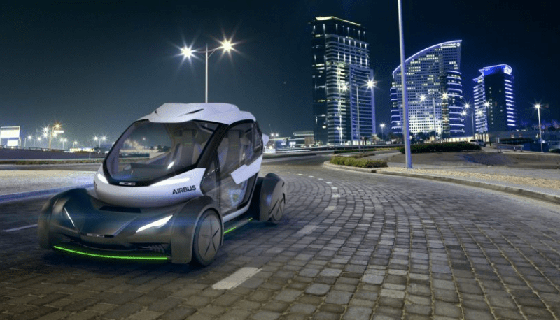 Italdesign and Airbus unveils Autonomous Ground and Air Passenger Concept Vehicle Pop.Up driving mode