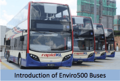 Electric Mobility Prasarana Rapid electric hybrid bus