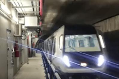 Kuala Lumpur MRT Underground Train Test Run SBK line phase 2 by Prasarana