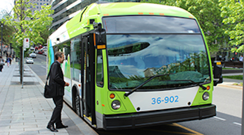 Nova Bus equips Montreal Canada with electric bus sustainable urban mobility electric vehicle