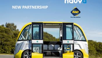 RAC Royal Automobile Club Australia Navya Arma Partnership Driverless Vehicles to Australia New Zealand Southeast Asia ASEAN