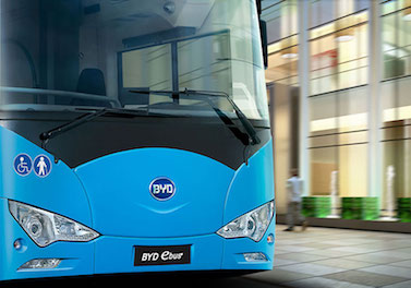 Syntus Orders BYD Electric Buses for service in Dutch Cities 12m ebus