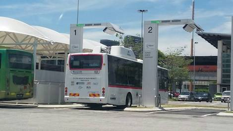 Electric vehicle EV Bus will Lead Malaysia Electric Mobility Blueprint Putrajaya NEDO public transport sustainable urban mobility