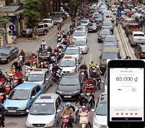 Vietnam Puts a Stop to New Ride-Sharing Licences ride hailing uber grab mailinh vinasun