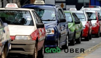 Malaysia Amends Land Pubic Trasport Act to Legalise Ride-Hailing Services e-hailing ride-sharing uber grab riding pink
