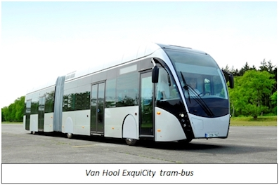 Ballard Signs LOI to Power First-Ever Fuel Cell Tram-Buses With Van Hool in France sustainable urban mobility public transport