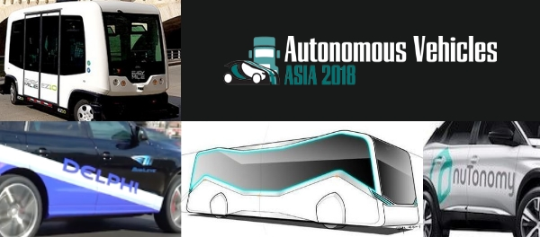 Autonomous Vehicles Asia 2018 will Discuss AV Readiness in Asian Cities urban mobility public transport car sharing CAV