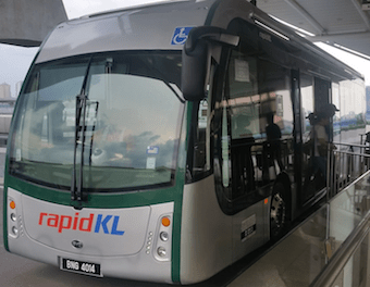 Malaysian Government will Contribute Funds to Johor's Urban Mobility Bus Rapid Transit BRT Development Iskandar Johor Malaysia