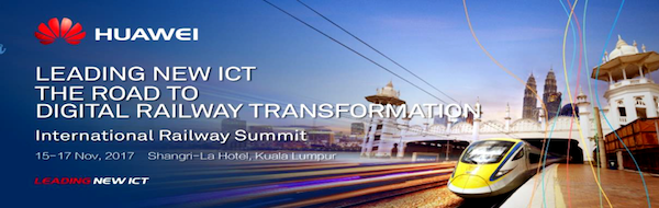 5th International Railway Summit Kuala Lumpur public transport transit urban mobility
