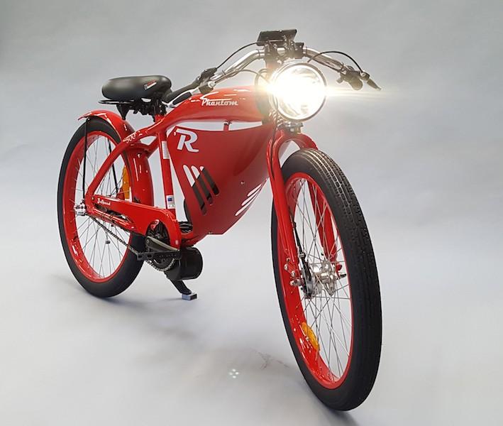 GO Automobility LA phantom Bikes gas electric powered bicycle personal mobility