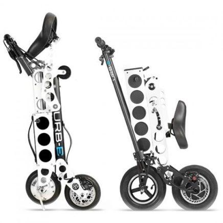 GO Automobility LA URB-E sport-pro-foldable electric scooter compact