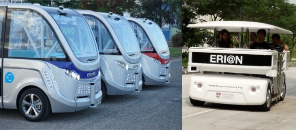 Singapore Wants to Roll out Driverless Bus and Shuttle Services by 2022 in Punggol Tengah Jurong autonomous vehicle urban mobility in public transport