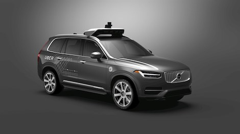 Volvo Cars to Supply Tens of Thousands of Autonomous Drive Compatible Cars to Uber autonomous vehicle driverless self driving ride hailing sharing hailing urban mobility