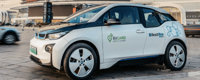 BMW Partners SAIC EVCARD Launches Electric Car-sharing Service in China sustainable electric urban mobility