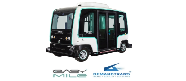 DemandTrans Partners EasyMile to Bring Driverless Shuttle Hailing App to Riders on demand e-hailing urban mobility