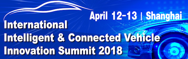 Intelligent Connected Vehicle Summit 2018 China urban mobility