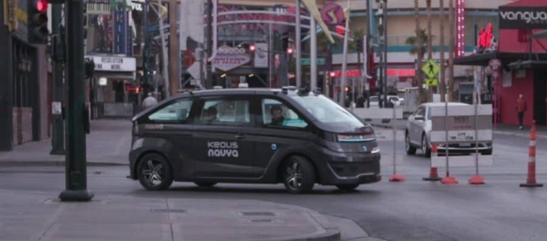 Keolis To Operate First Navya Autonomous driverless robo-Taxi In North America urban mobility