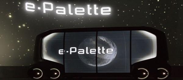 Toyota Spotlights Technology-Driven Future Of Urban Mobility At CES 2018 e-Palette platform
