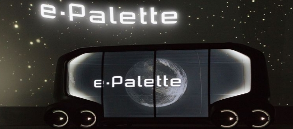 Toyota Spotlights Technology-Driven Future Of Urban Mobility At CES 2018 e-Palette platform