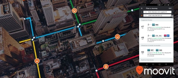 Moovit Raises $50 Million to Expand Global Urban Mobility Operating System as a service app