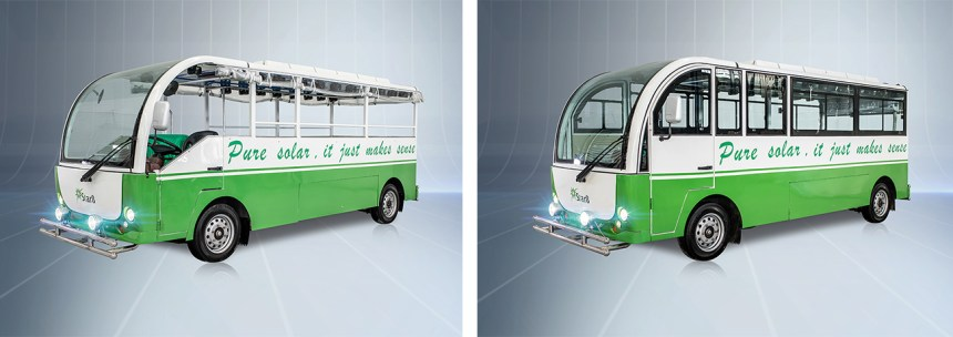 Electric Vehicles to Dominate in Philippines' Jeepney Modernization Star8 Solar electric jeepney sustainable urban public transport
