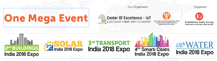 One Mega Event India 2018 Urban development mobility exhibition