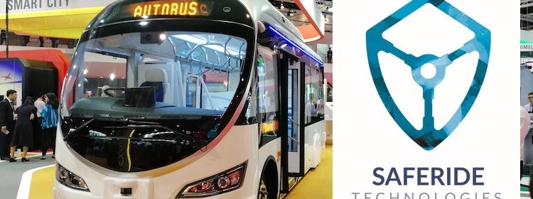 ST Engineering and SafeRide Announces Strategic Partnership to Protect Connected Autonomous Vehicles bus shuttle urban mobility