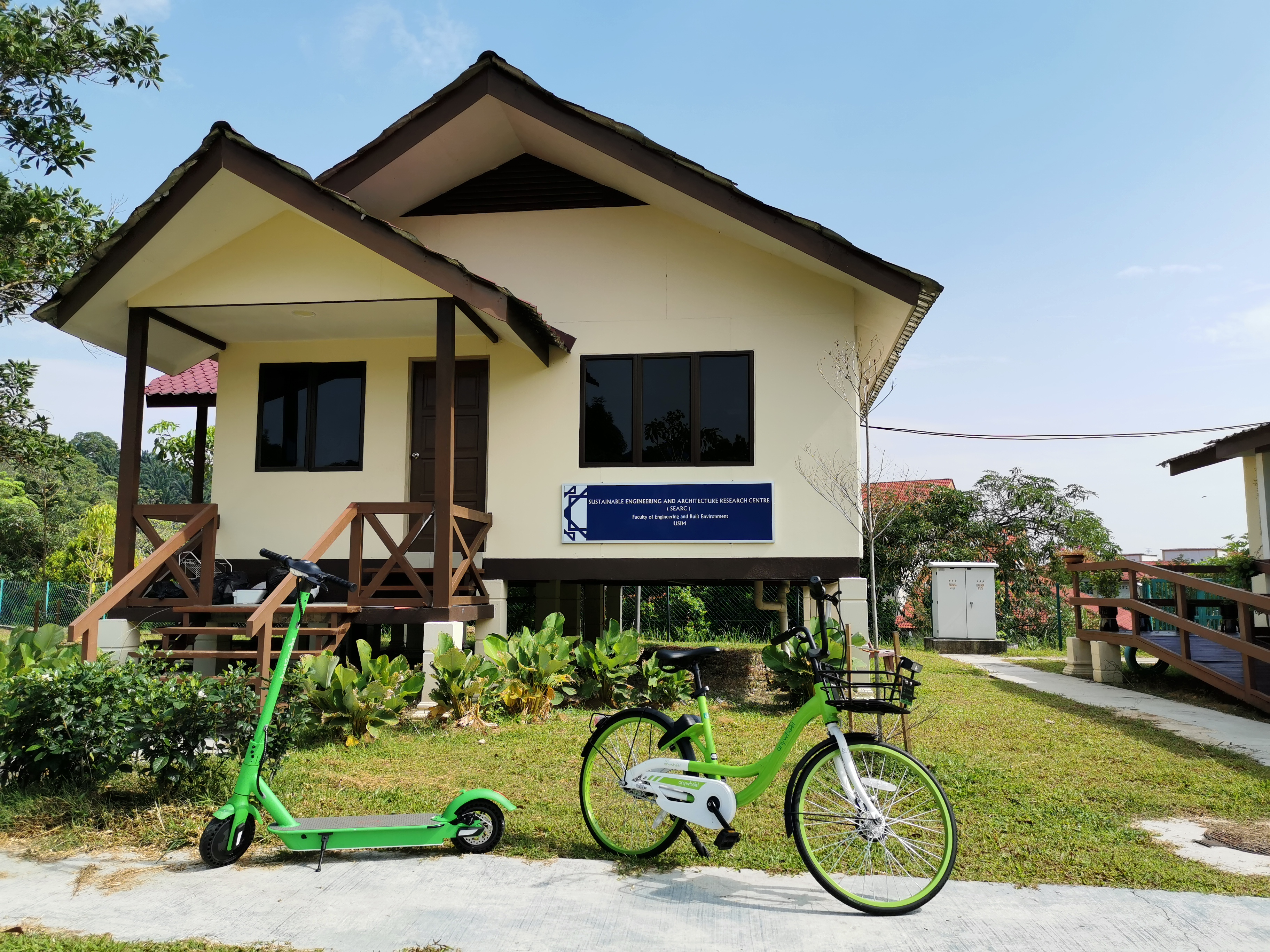 Anywheel at Centre for Sustainability and Serenity C4SS USIM