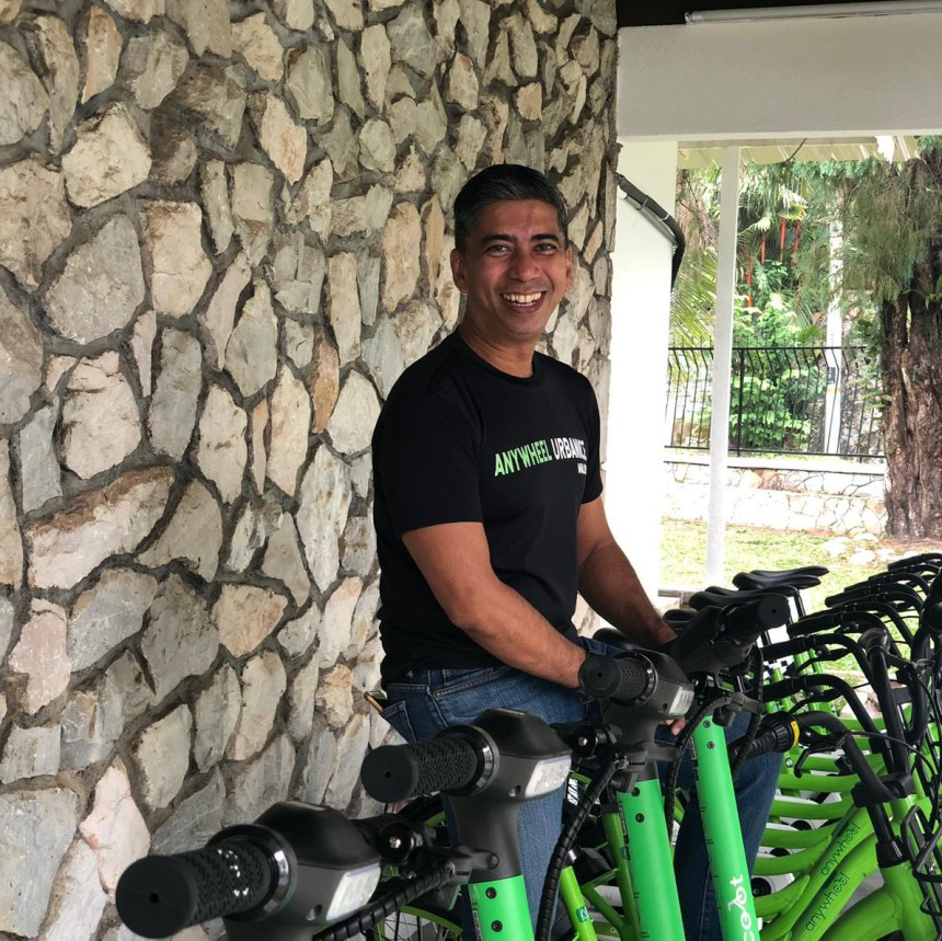 Johan Sammy Head of Expansion for Anywheel Singapore Southeast Asia