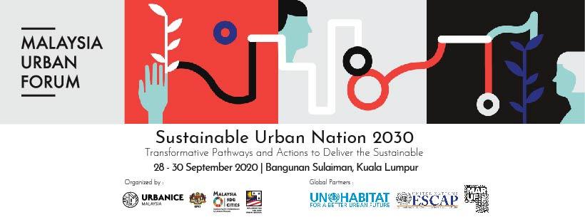 Malaysia Urban Forum 2020 Kuala Lumpur Sustainable sustainability mobility