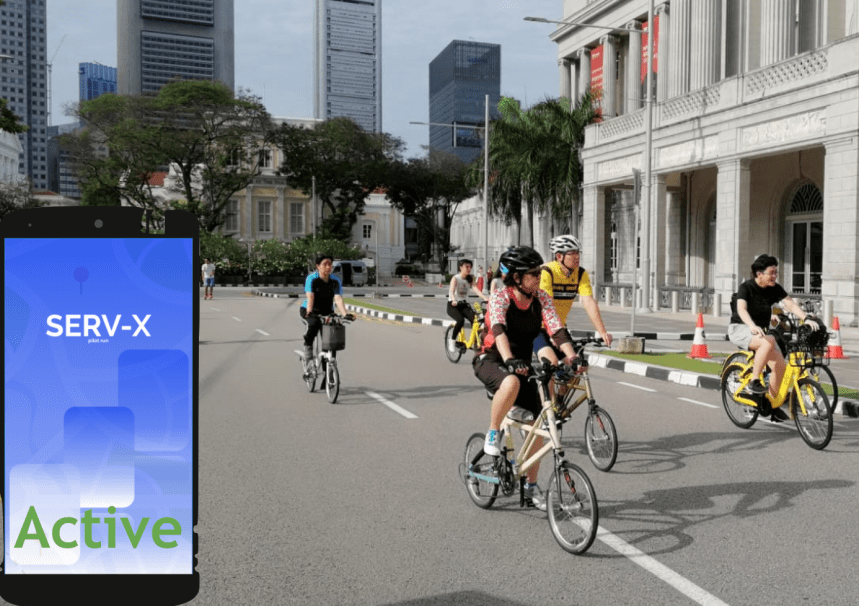 """Serv LCC Activelow carbon emission savings reward mobile app for southeast asia green point exchange sustainable smart urban mobility"