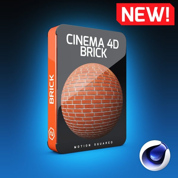 Cinema 4D Brick Texture Pack