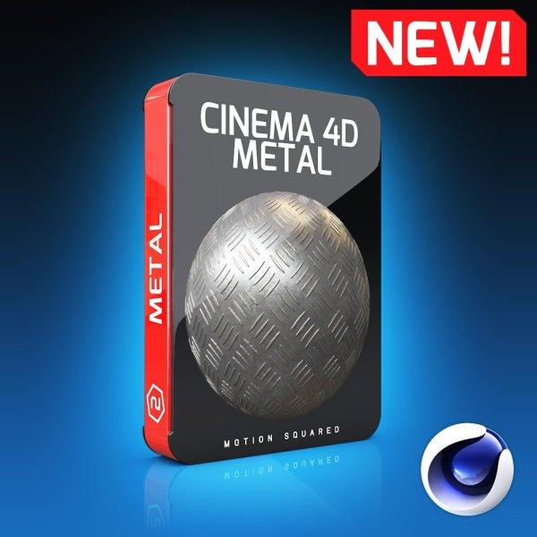 cinema 4d metal texture pack