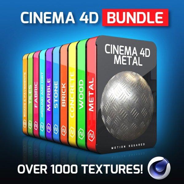 cinema 4d texture packs bundle