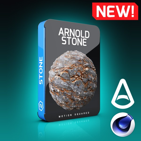 Arnold Stone Materials Pack for Cinema 4D