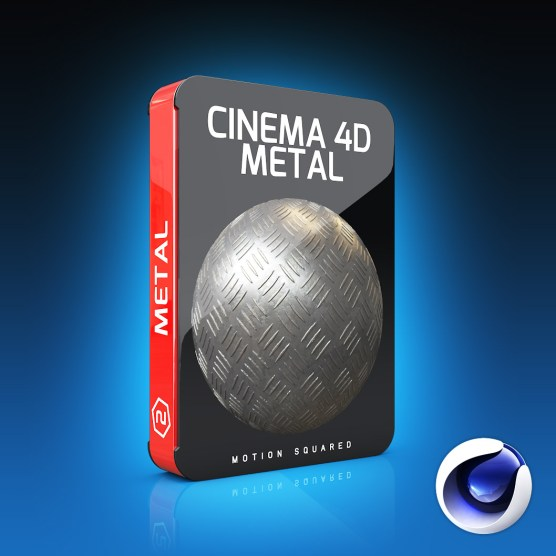 Cinema 4D Metal Materials Pack