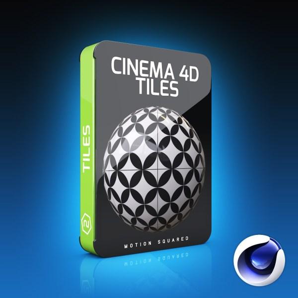 cinema 4d tile materials pack