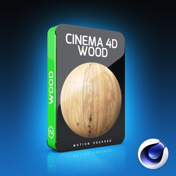 Cinema 4D Wood Materials Pack - MOTION SQUARED