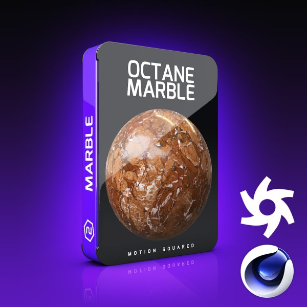 Octane Marble Materials Pack for Cinema 4D