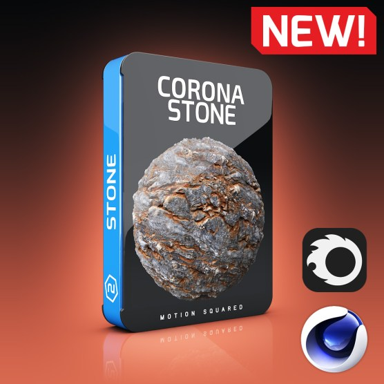 Corona Stone Materials Pack for Cinema 4D