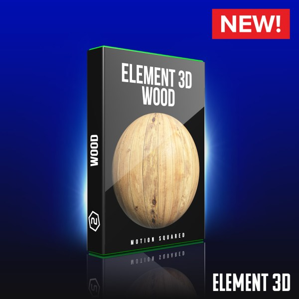 Element 3D Wood Shaders