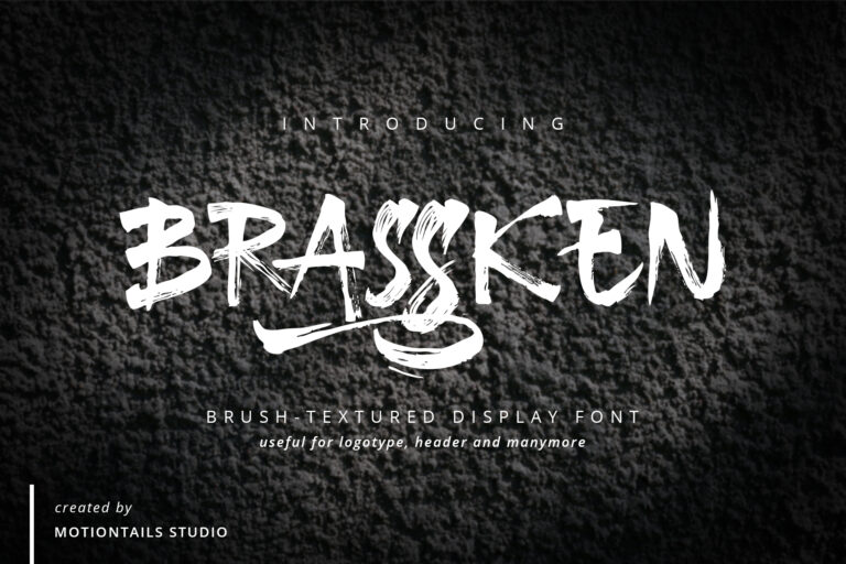 Preview image of Brassken Brush Texture