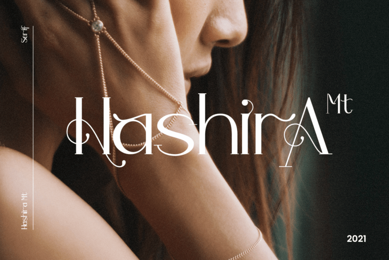 Preview image of Hashira Mt – Serif Font Modern