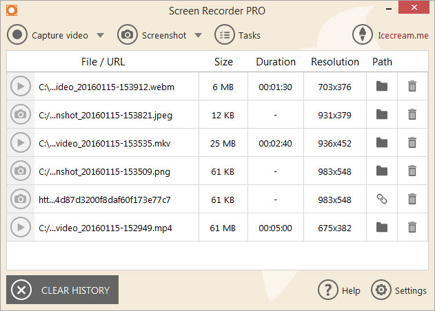 Aplikasi Perekam Layar GRATIS Untuk Windows IceCream Screen Recorder